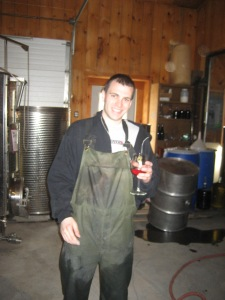 Phil Jr., Assistant winemaker at Damiani Wine Cellars