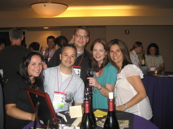 Here we are at the Russian River Valley Winegrowers After Party